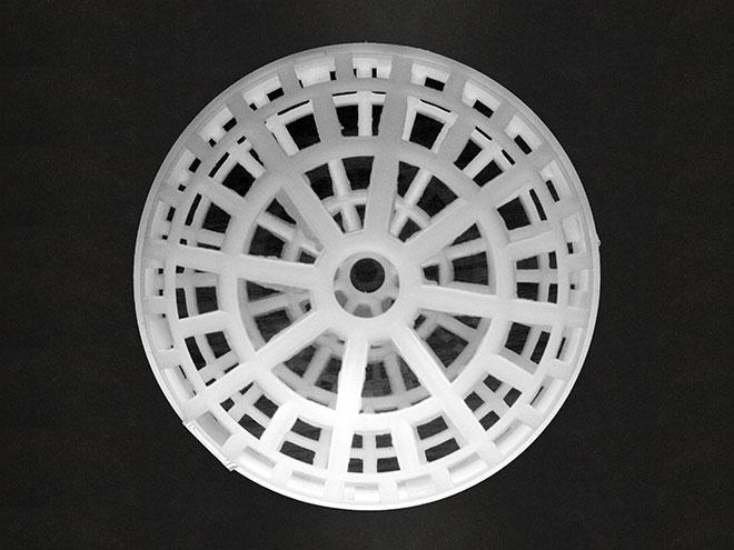 直径80mm多孔悬浮球填料